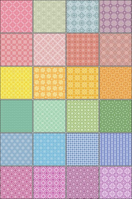40 Pixel Patterns By Pyokoladigital On DeviantART Naptar40 Impressive Pixel Patterns