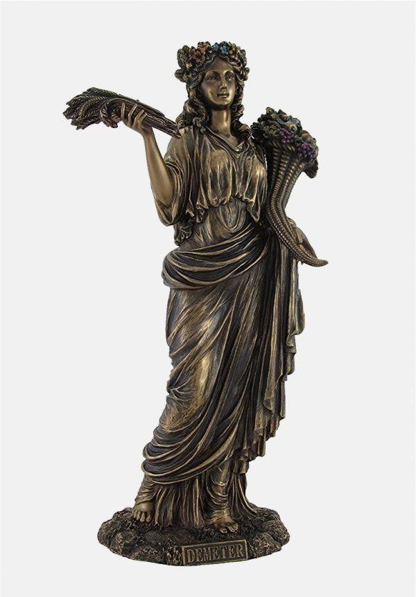 32 Powerful Statues Of Greek Gods Goddesses Mythological Heroes Greek Goddess Statue Goddess Statue Bronze Statue