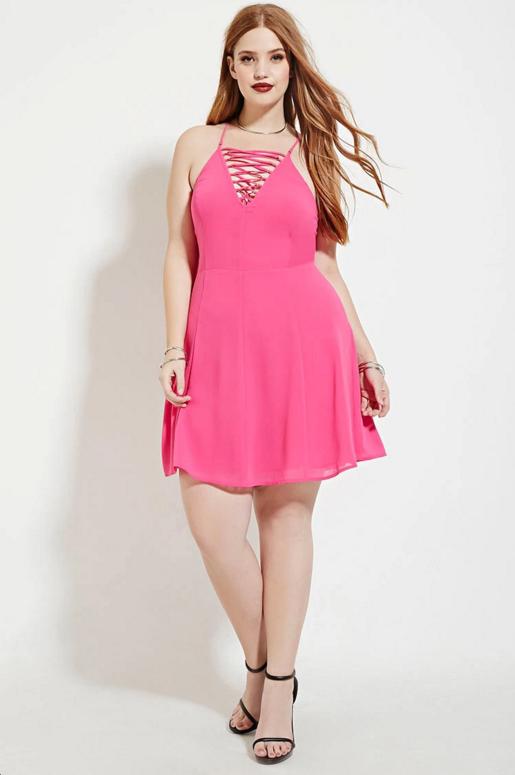 4b90a4c3f8ca Vestidos Cortos Para Gorditas Jovenes En Lindos Modelos | Vestidos ...