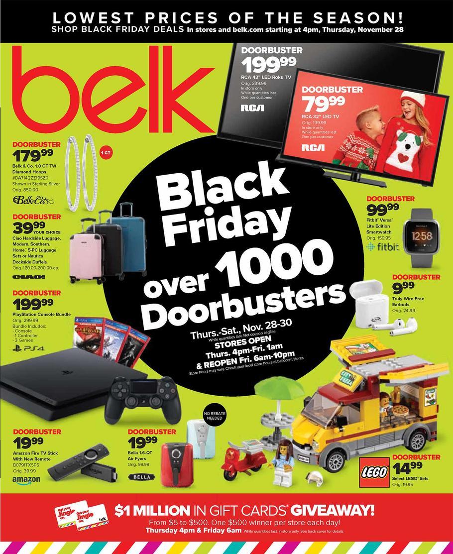 Belk 2020 Black Friday Ad Belk Black Friday Black Friday Black Friday News