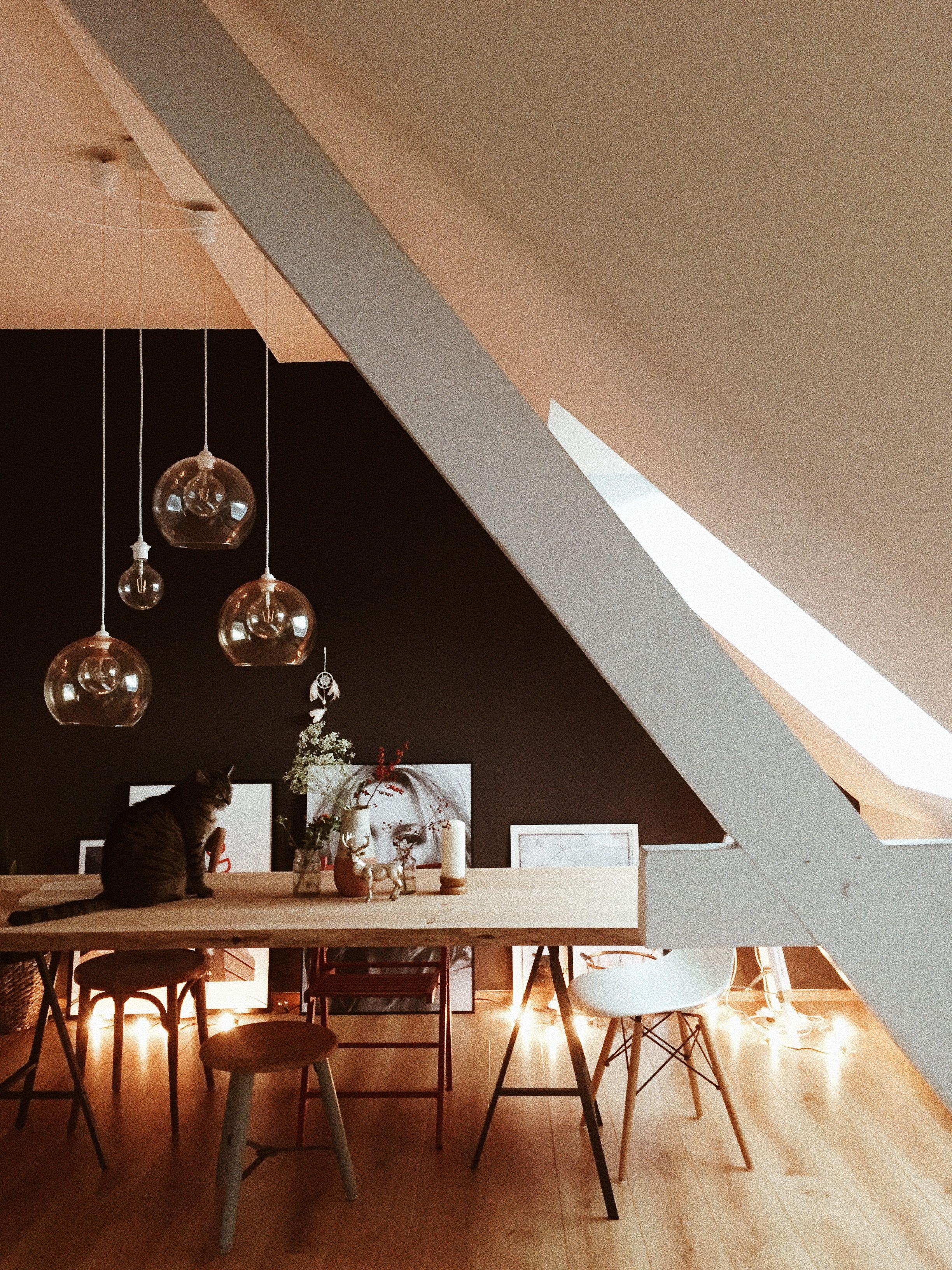 Schlafzimmer Lampe Dachschr臠e