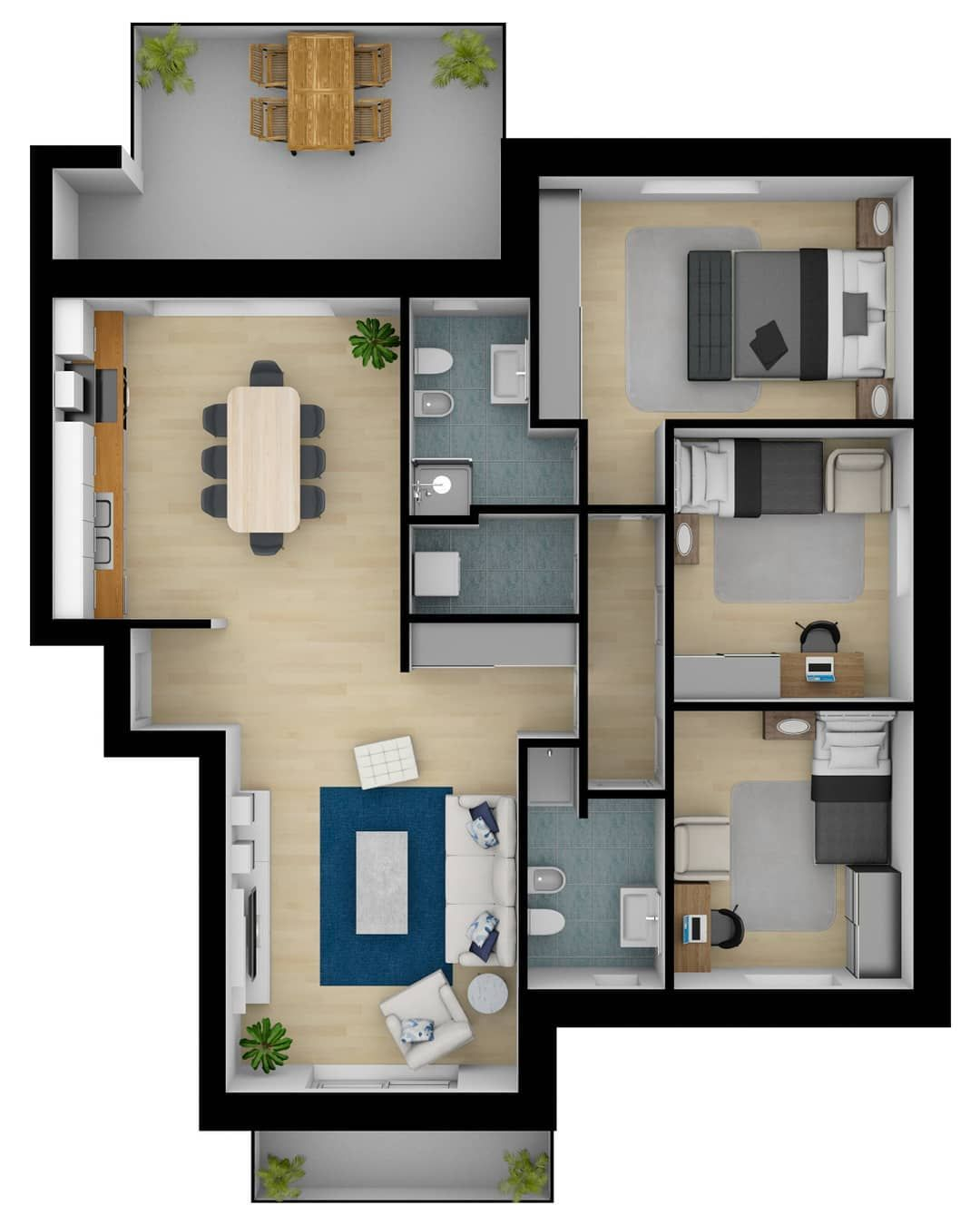 Created by a member of the Floorplanner.com community. #3d ...