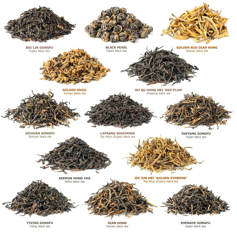 types of teas An introduction to types of tea believe it or not, all true teas are harvested from the same camellia sinensis plant that means white tea, black tea, green tea, oolong tea, and others all originate from the exact same leaf.