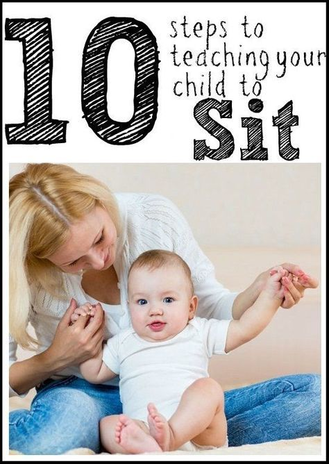 How to Teach Your Baby To Sit Up Independently The RIGHT ...