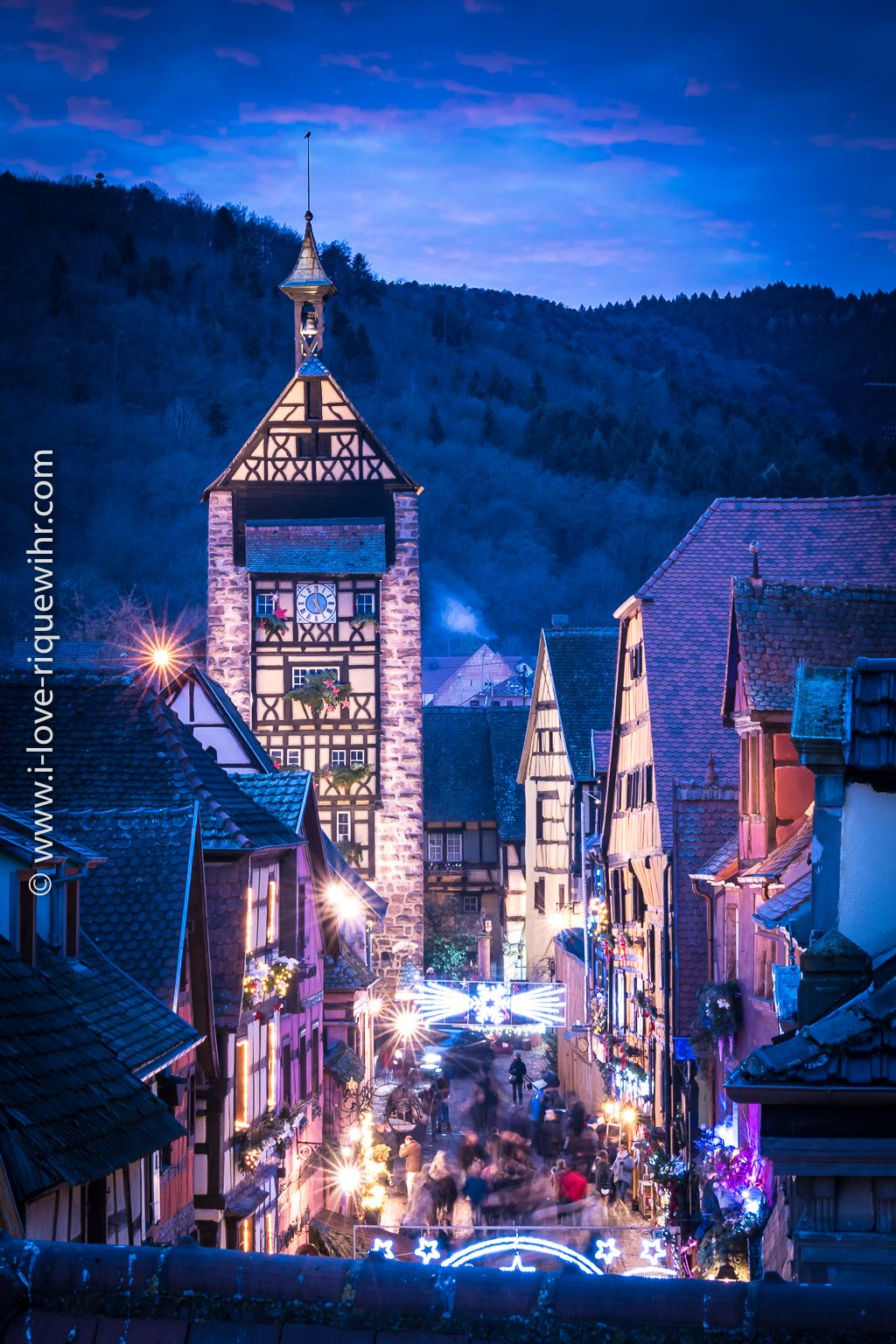 Riquewihr is one of the prettiest villages in France. From