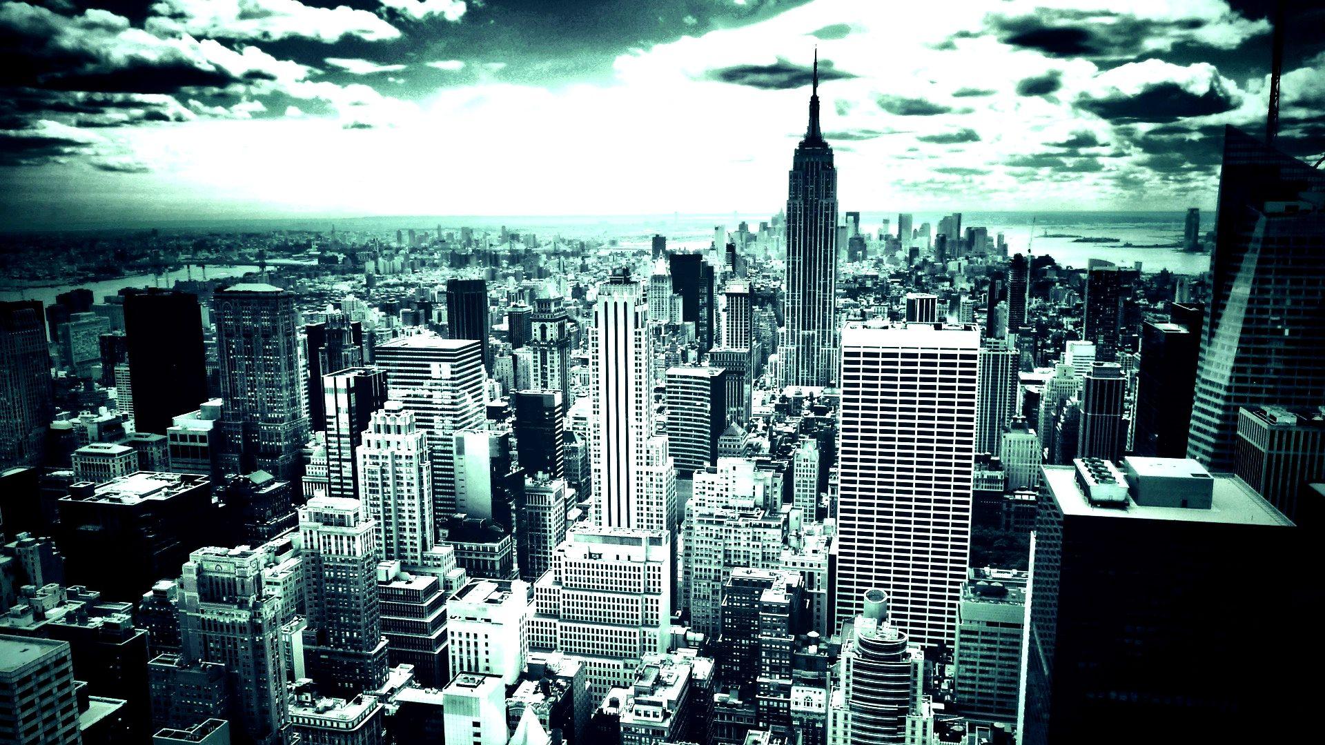 Cityscape New York Wallpaper York Wallpaper City Wallpaper