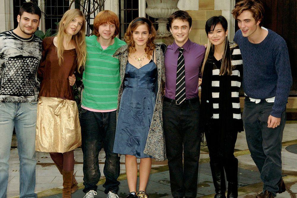 Clemence Poesy Harry Potter Star Ist Schwanger Katie Leung Robert Pattinson Robert Pattinson Twilight