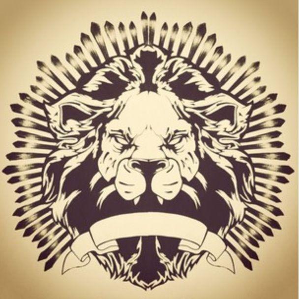 Lion design i made for a t-shirt print