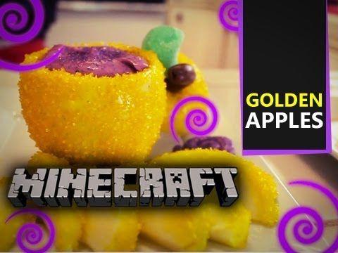 Mine craft diy golden apple dessert halloween minecraft mine craft diy golden apple dessert forumfinder Image collections