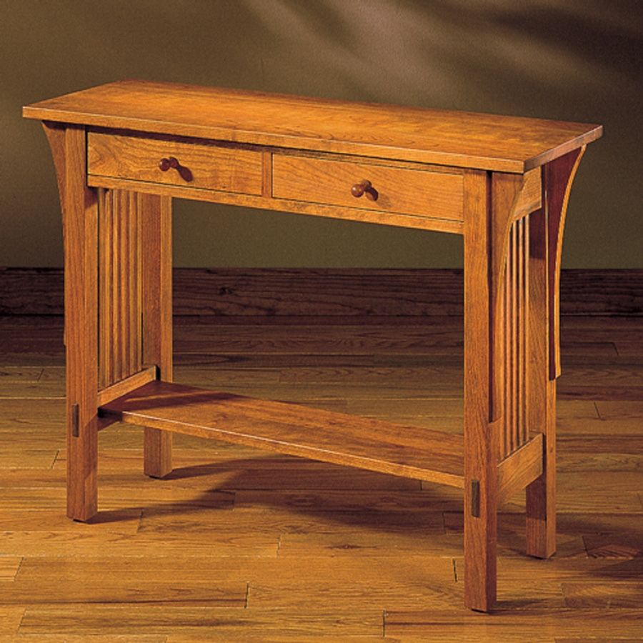 Delightful Stickley Mission Console Table | Http://argharts.com | Pinterest | Console  Tables, Consoles And Extra Storage