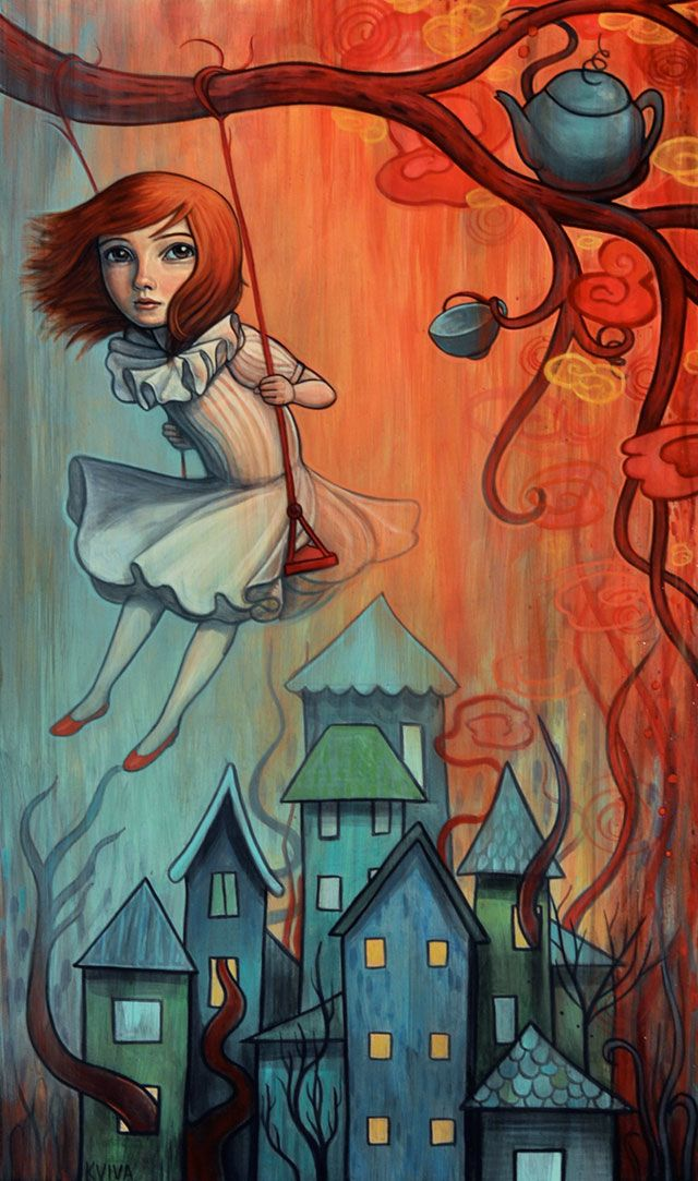 """Swinging Above"" by Kelly Vivanco"