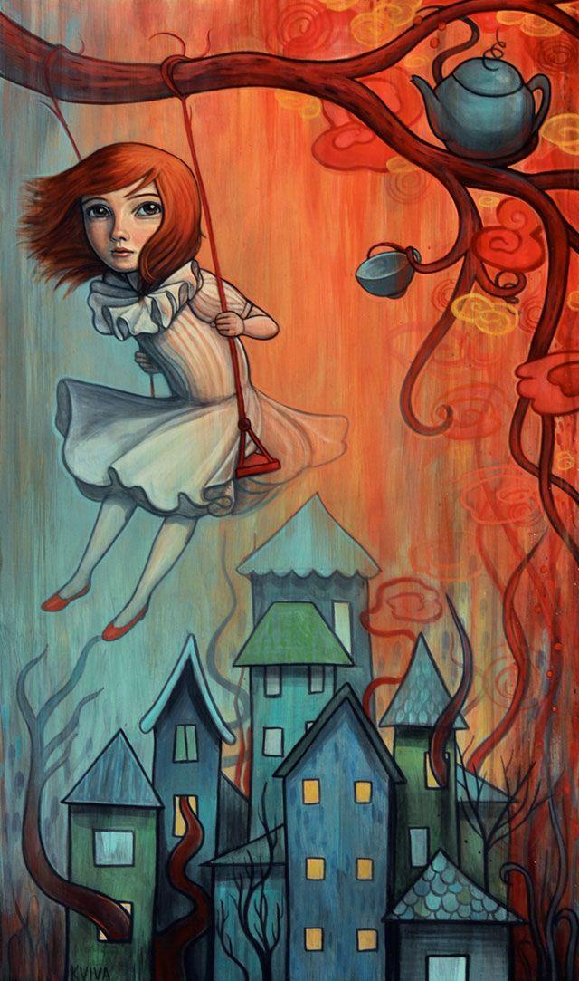 """Swinging Above"" by Kelly Vivanco"