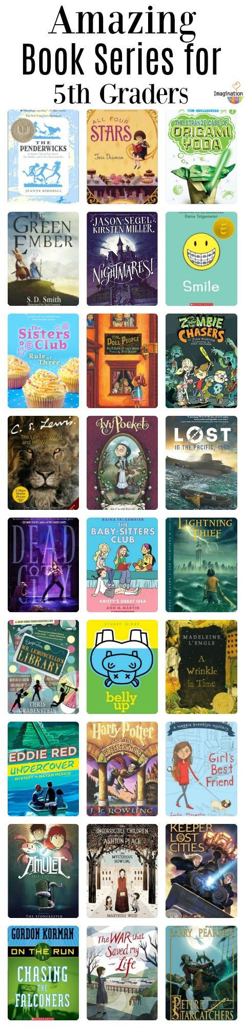 27 Book Series For 5th Graders 10 Year Olds Reading Activities
