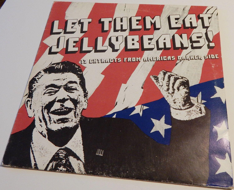 Vintage Vinyl Record Album Let Them Eat Jellybeans 1981