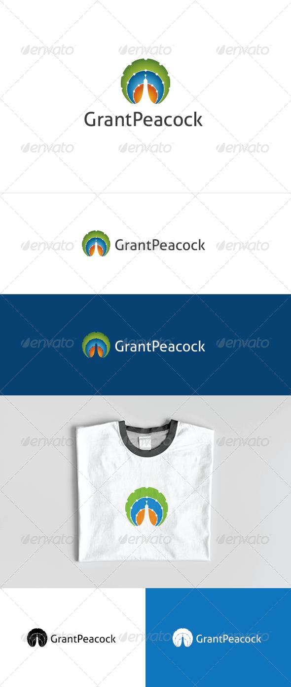 Grant Peacock Logo Template