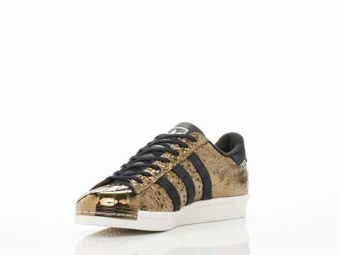 adidas blue superstar 80s metal sneakers