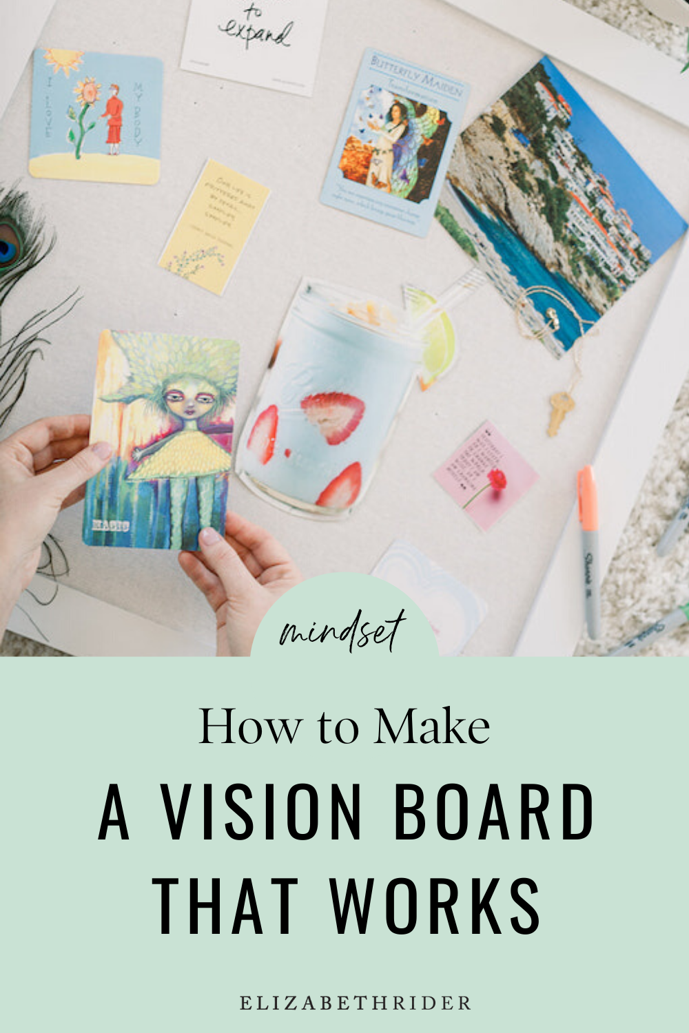 Yes Vision Boards Work Here S How To Create One Elizabeth Rider Healthy Recipes Modern Lifestyle Advice Making A Vision Board Health Coach Business Work Vision Board