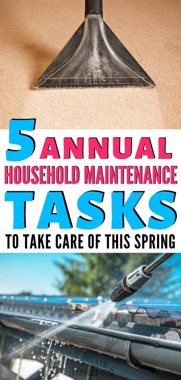 With the weather warming and the days getting longer, spring is a great time to tackle a few home maintenance projects. In addition to assessing your home for winter damage, the spring will give you a chance to prepare your home and garden for summer fun. #homemaintenance