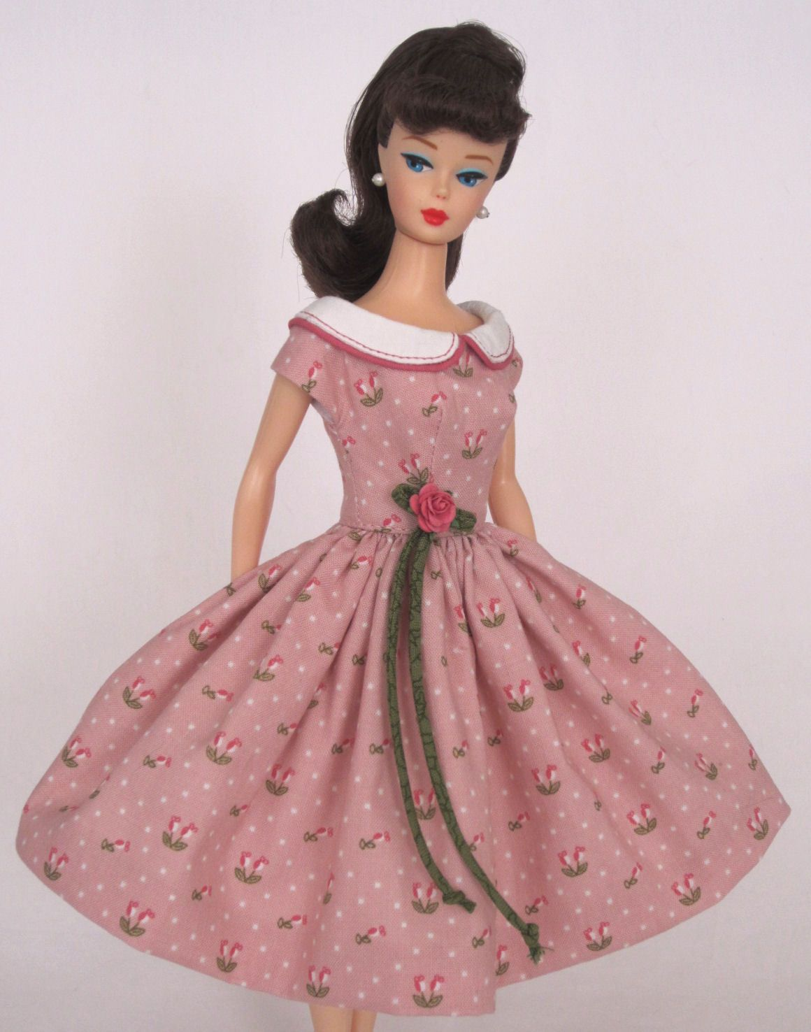 Barbie Doll Dress Reproduction Repro Barbie Clothes by Eggie! This ...
