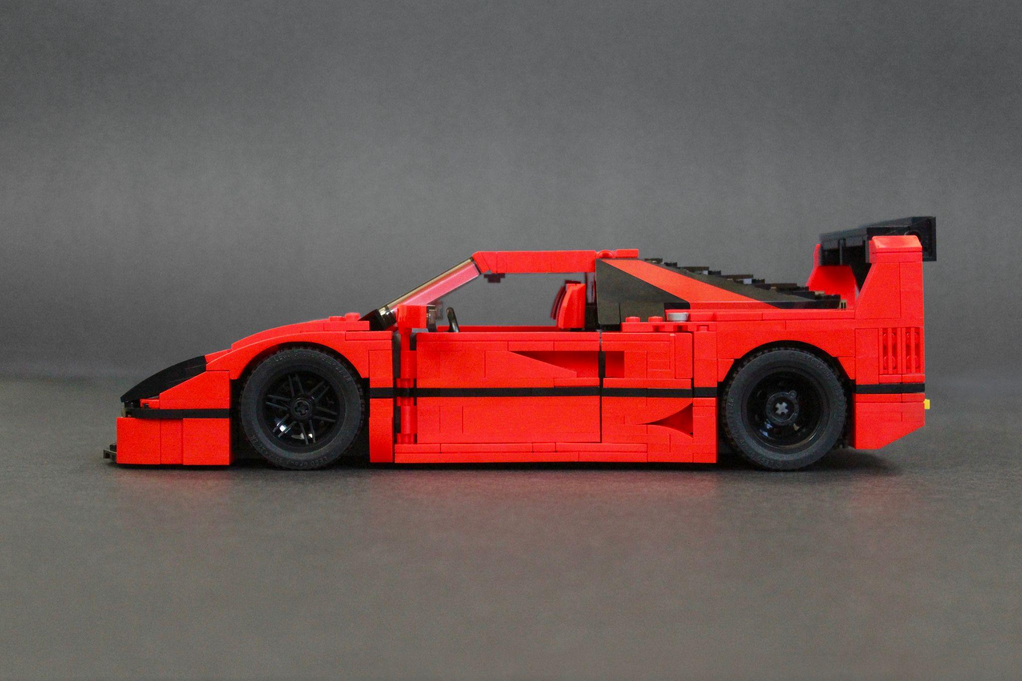 ferrari f40 lm super mod same but different lego cars pinterest ferrari f40 and lego. Black Bedroom Furniture Sets. Home Design Ideas
