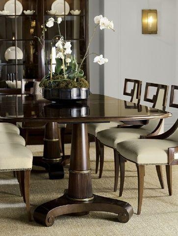 Delightful Обеденный стол 7836G DOUBLE PEDESTAL TABLE Коллекция: The Thomas Pheasant  Бренд: Baker Страна: