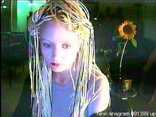 ana voog, anacam 1999 | Hair, Ana, Dreadlocks