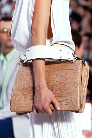 chloe. love the clean lines, white... and that bag!
