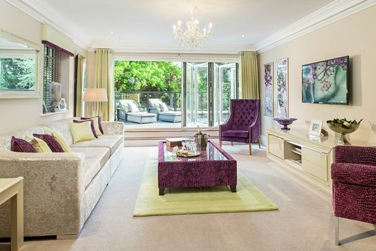 This brand new show home in Ilex Court, Poole has been fully furnished by  Basic Elegance Furnishings. The Interior