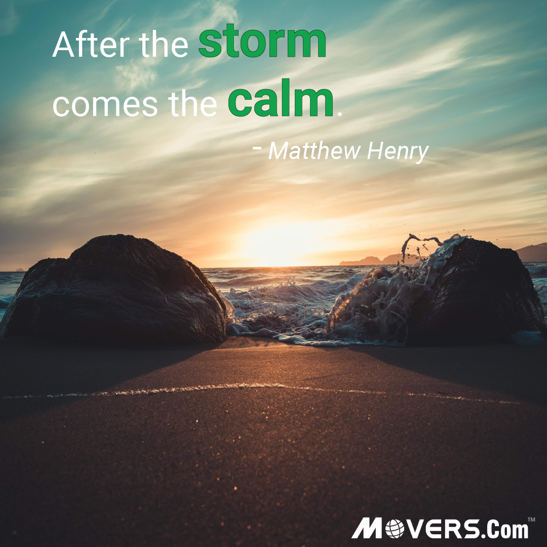 The calm comes after the storm. #quotes #motivation ...