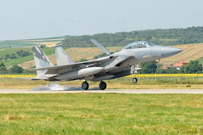 The Aviationist » U.S. F-15s and Romanian MiG-21s taking part in Dacian Eagle 2016 exercise in eastern Europe
