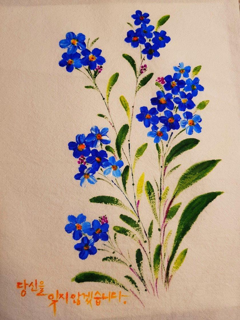 15번째 이미지 | flores p pintar | Pinterest | Pintura en tela ...