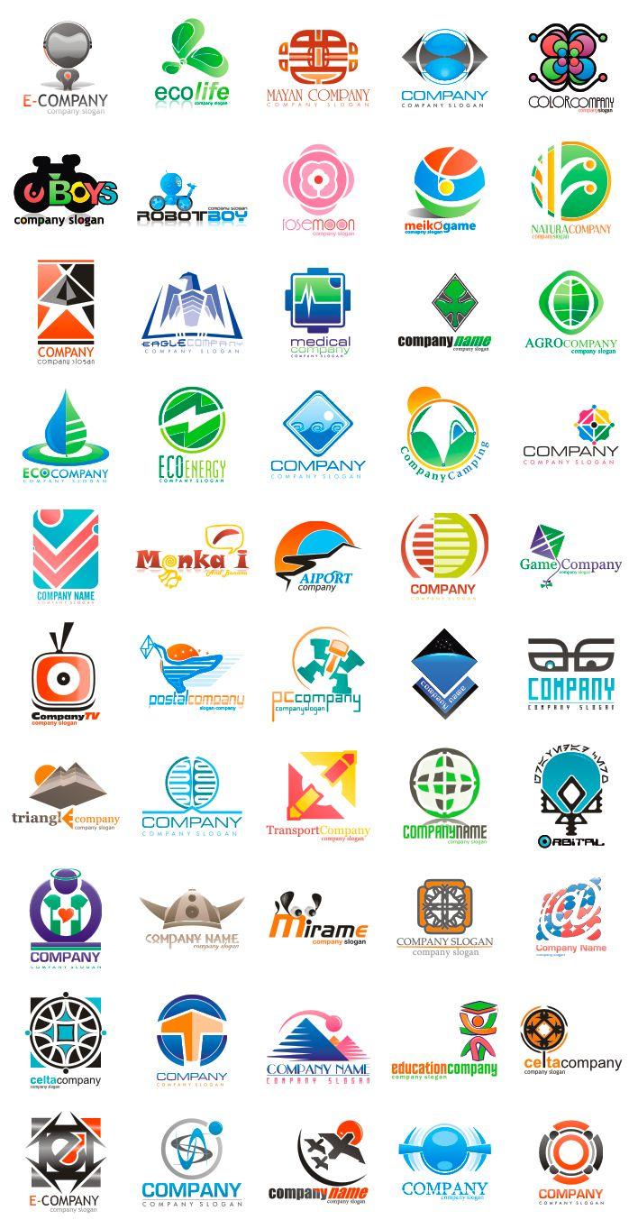 Logotipos gratis en formato Corel Draw Logo design