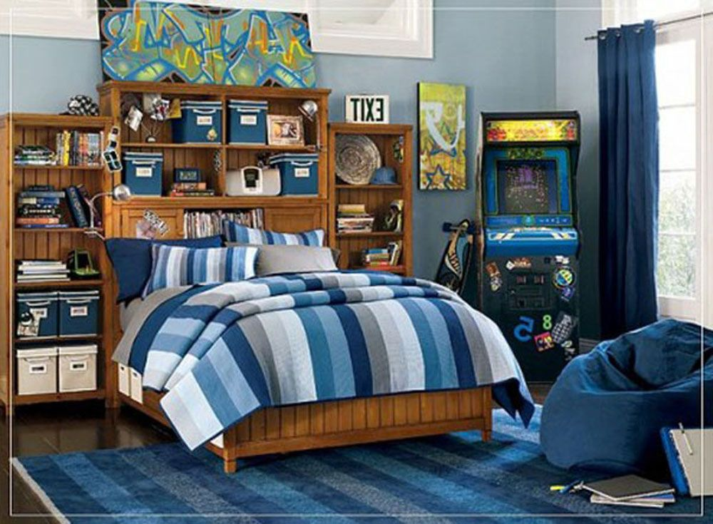 Decorating A Teenage Boy Room Should Be Easy With This Kind Of ...