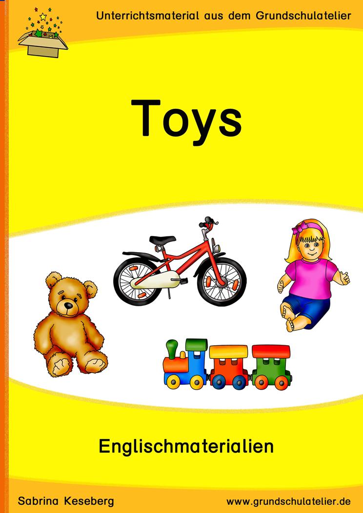 Toys (Spielzeug) | Unterrichtsmaterial für die Grundschule | Pinterest