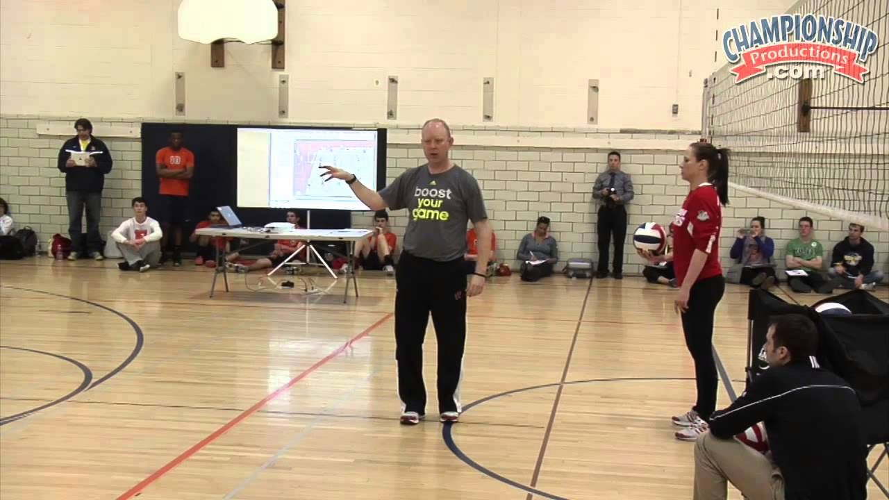 Defense That Lowers Your Opponent S Hitting Percentage Volleyball Team Volleyball Drills Defense