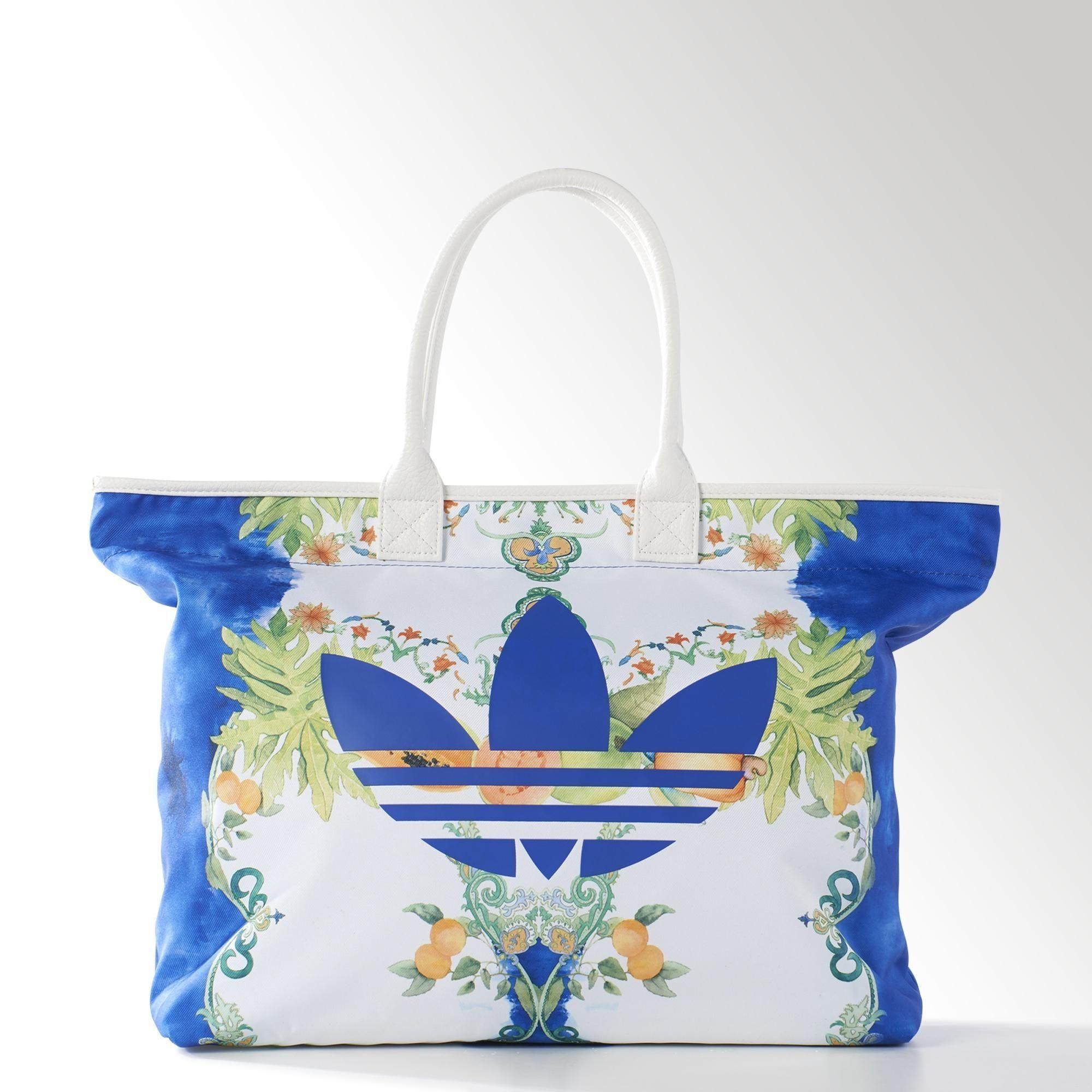 adidas Bolsa Originals FARM Indigo Beach Shopper Mujer en