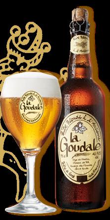 Bia La Goudale 7,2% - Chai 750ml
