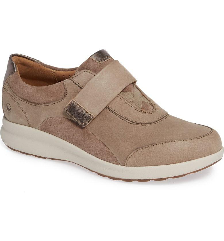 dcd76aac24e Clarks® Un Adorn Lo Sneaker in Pebble Nubuck