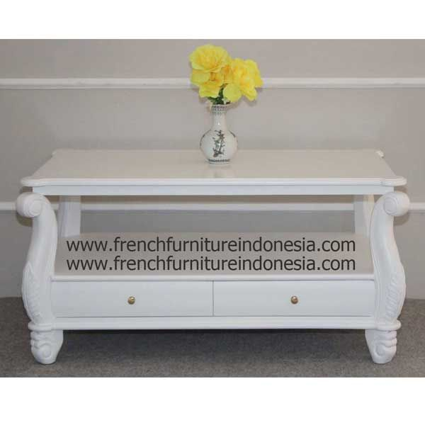 Buy Coffee Table Without Carving Border On Drawers From French Furniture  Indonesia. We Are Reproduction