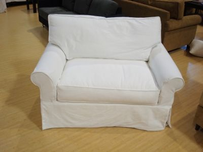 Delicieux Slipcover Oversized Chair   Ergonomics Only Indicates The Study Of  Designing Things, Like Seats, Office Chairs, Keyboards,
