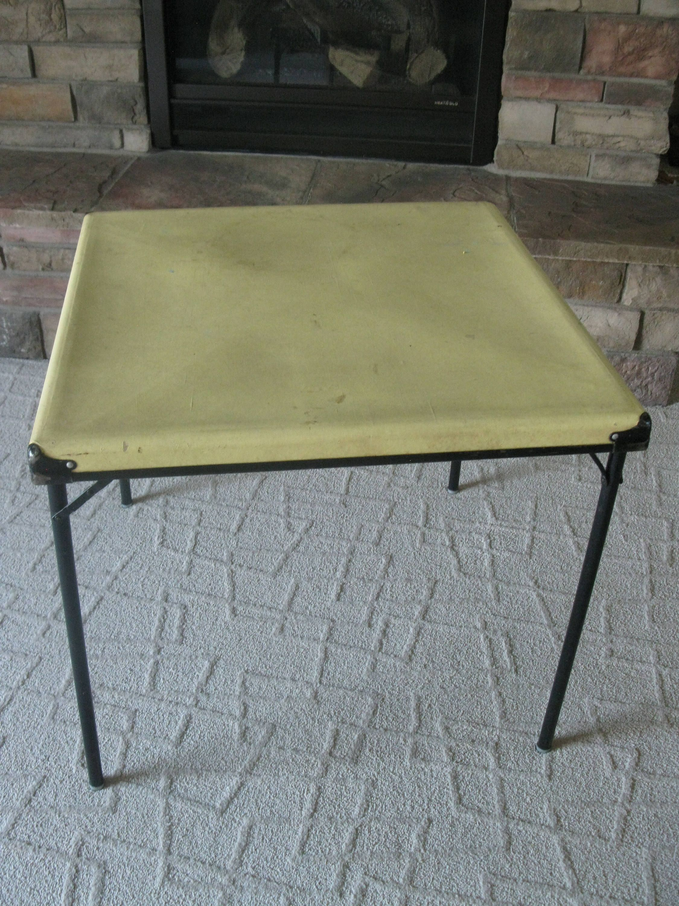 Excellent vintage card table think, you