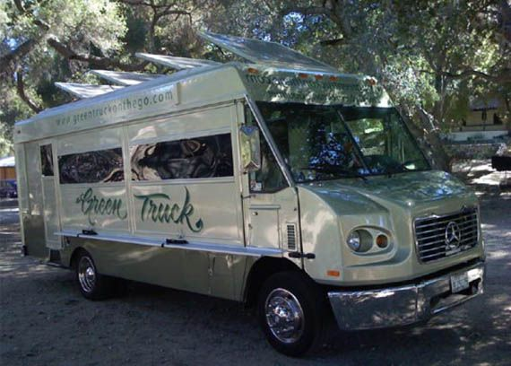 Green Truckom Venice California This Food Truck Offers The