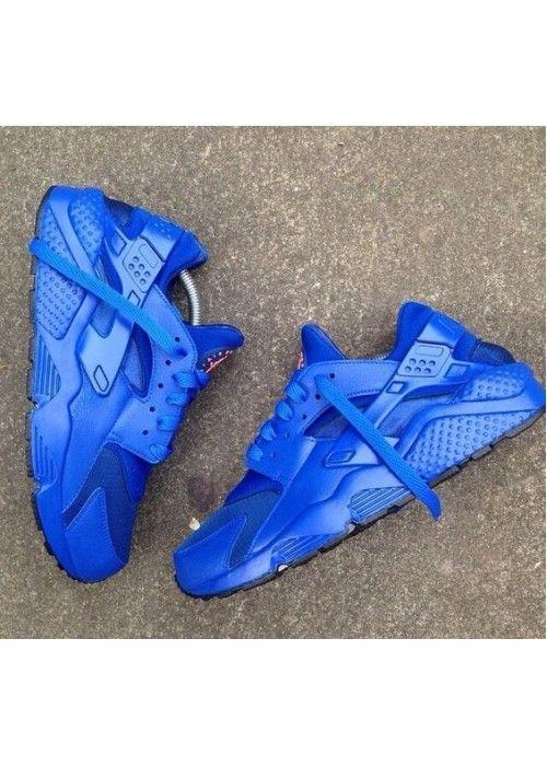 more photos 326dd 2023b Nike Air Huarache All Blue Men's Shoes | Shoes in 2019 ...
