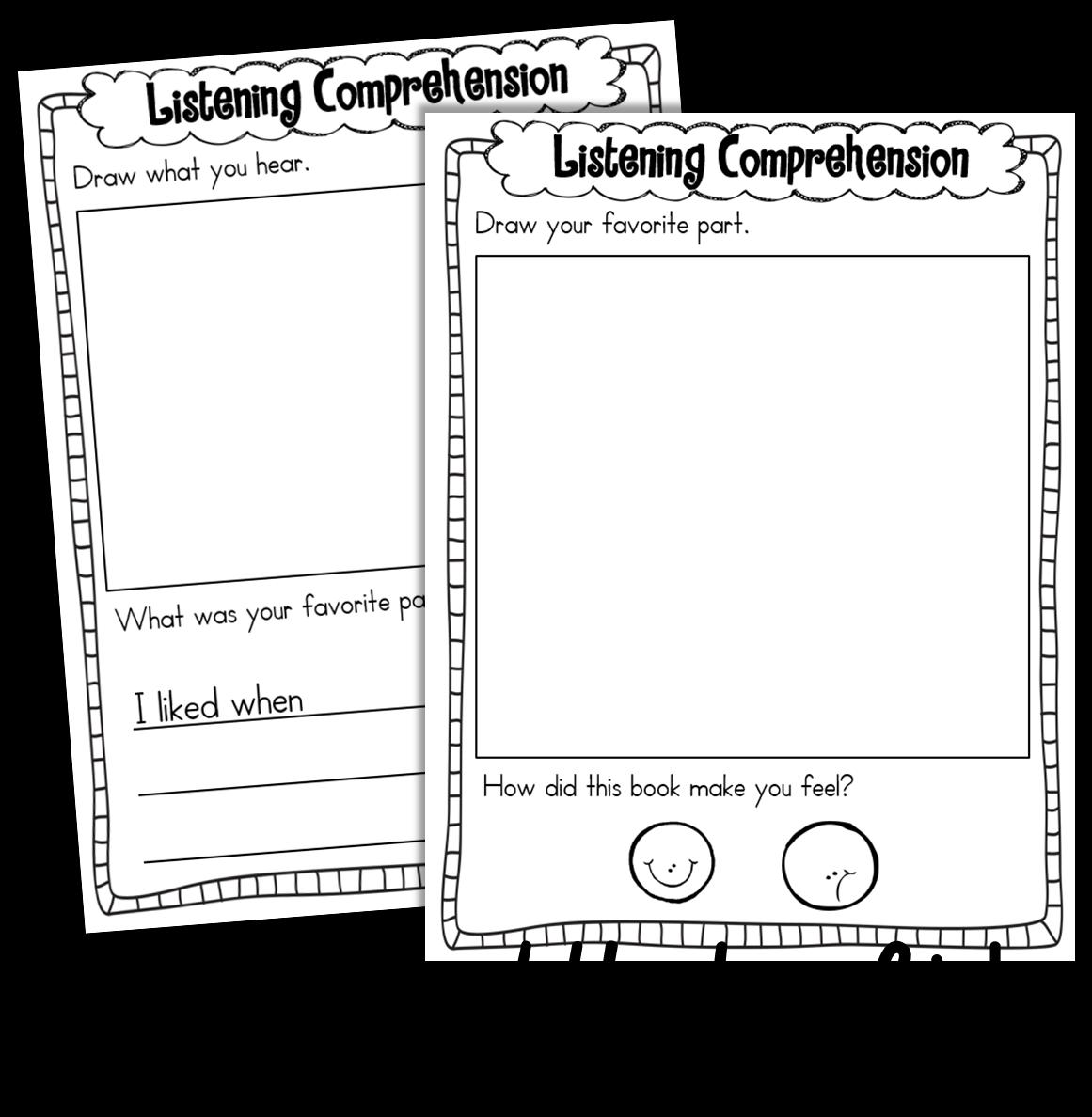 Frozen Listening Center Worksheet