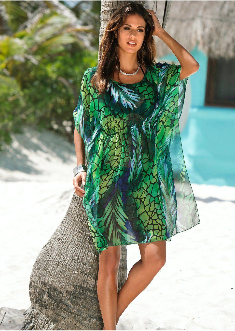 Bonprix - robe d'été Robe de bain vert pour femme Acheter La Meilleure Vente Pas Cher multicolore Vente En Ligne rllQtCiOp