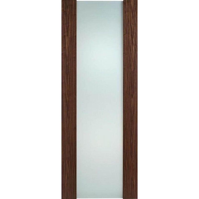 Toronto Walnut Full Glazed Internal Door