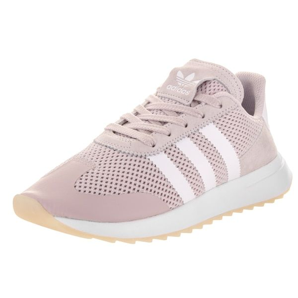 Adidas Women's Flashback Originals Pink Synthetic Leater