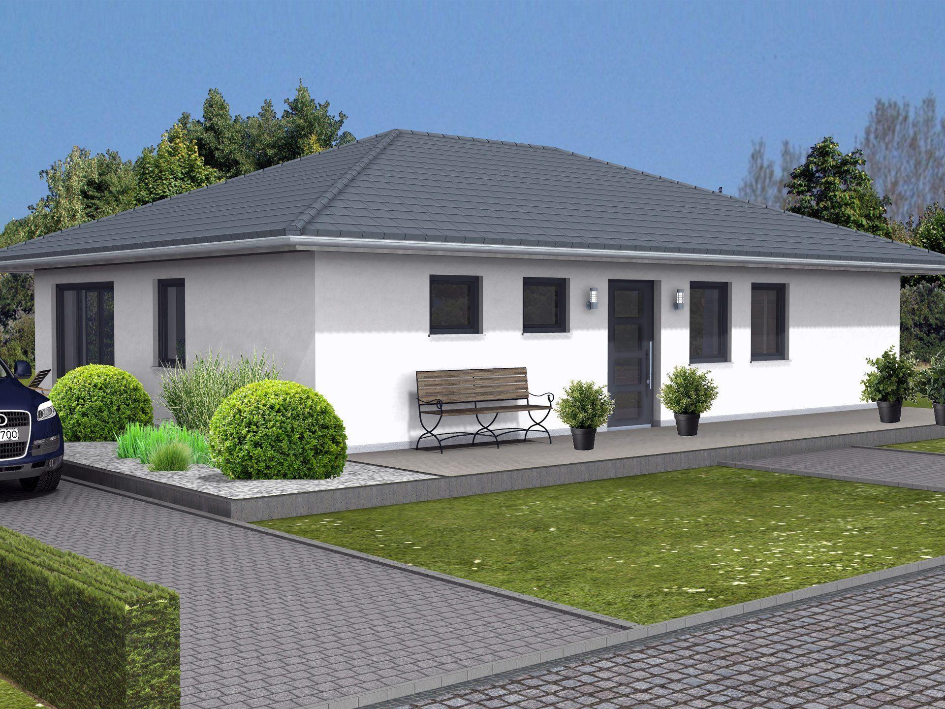 Bungalow K 91 von Ytong Bausatzhaus Bungalow, Ytong