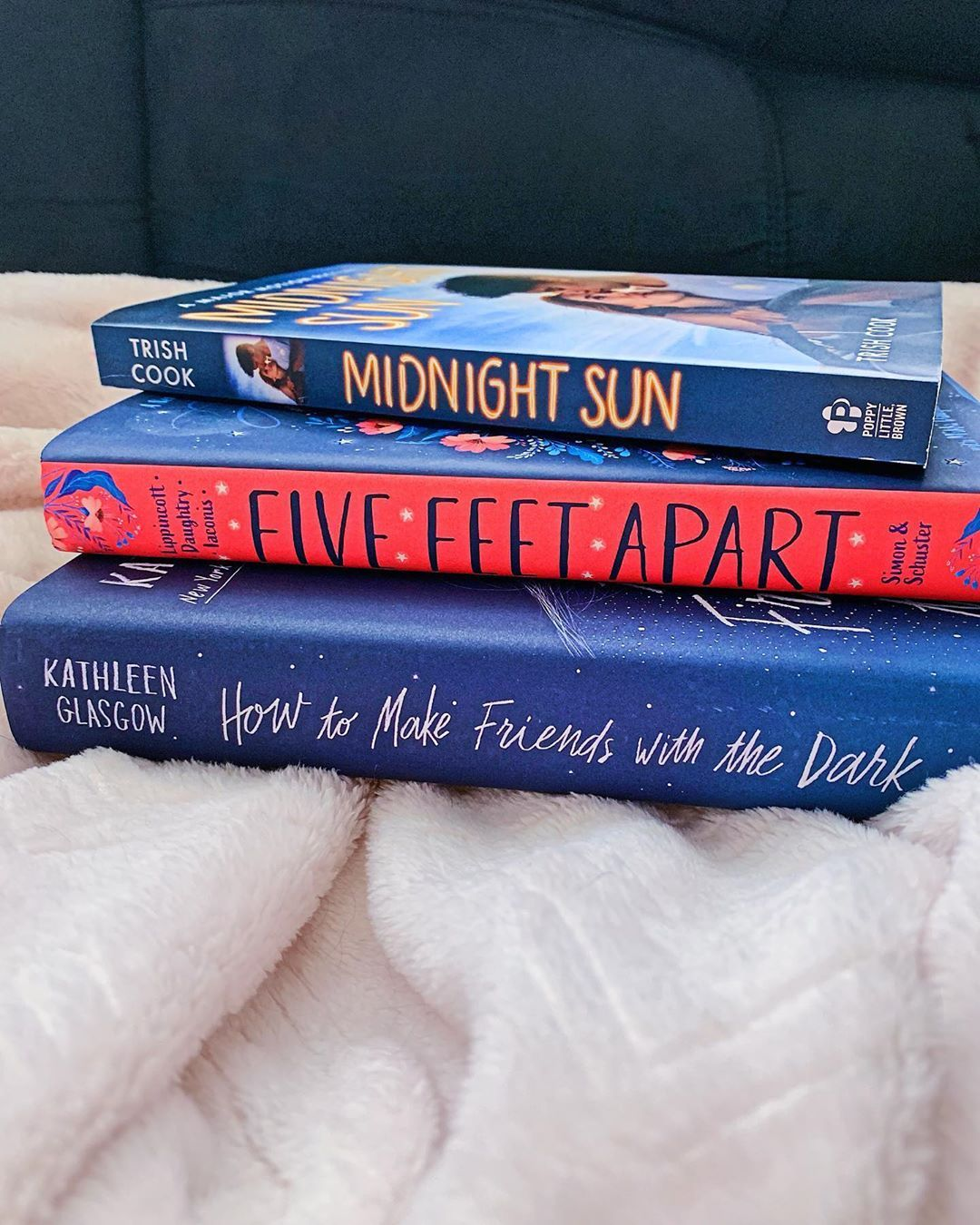 I don't live near a book store anymore but good thing @target has good sales on books ☺️ . . .  target  targetfinds  targetdeals  targethaul  books  bookhaul  midnightsun  trishcook  fivefeetapart  howtomakefriendswiththedark  kathleenglasgow