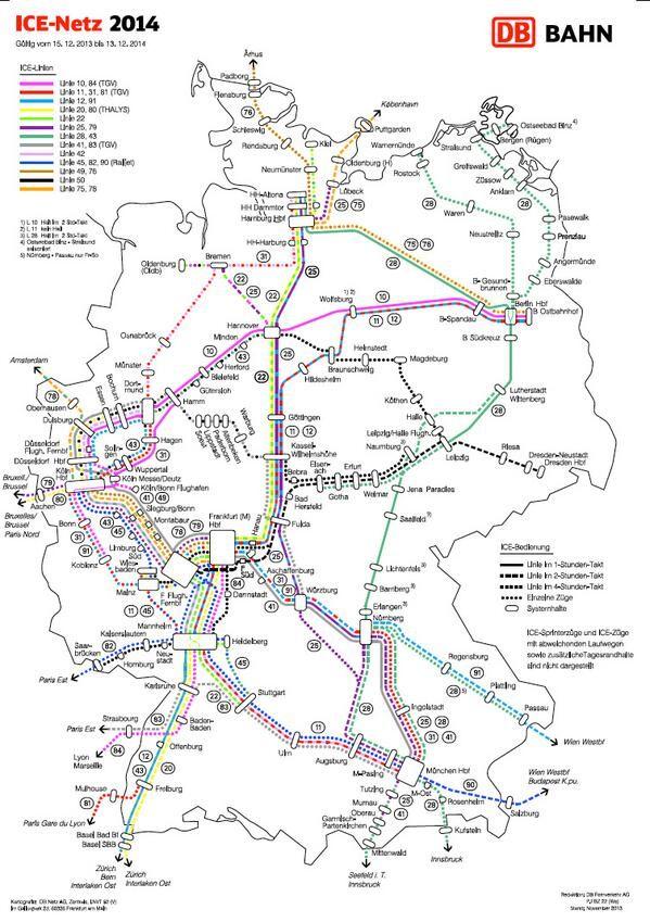train map germany train train map germany und map. Black Bedroom Furniture Sets. Home Design Ideas